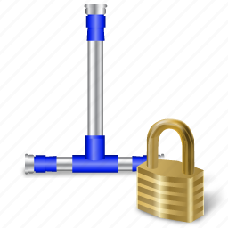 connection, secure icon