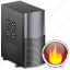 firewall, server icon