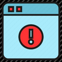 ban, block, caution, error, warning, web icon