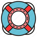 float, lifebuoy, safe, security icon