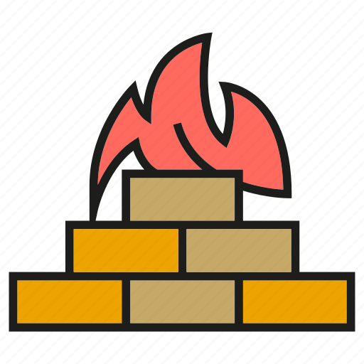 firewall, protect, seurity icon