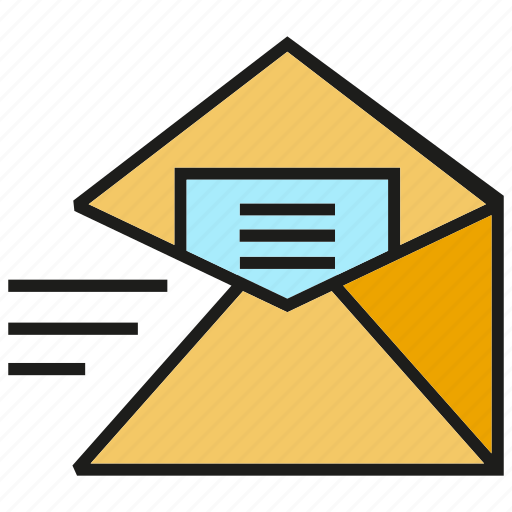email, envelope, letter, mail, send icon