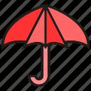 brolly, protect, sunshade, umbrella, verge