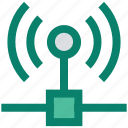 connection, hotspot, internet, network, signals, technology icon