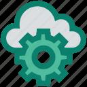 admin, cloud, configuration, gear, setting, share, storage