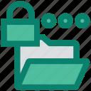 document, folder, lock, locked, private, security, storage