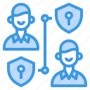 user, private, network, admin, protection icon