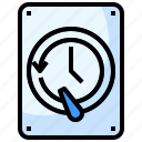 backup, networking, server, system icon
