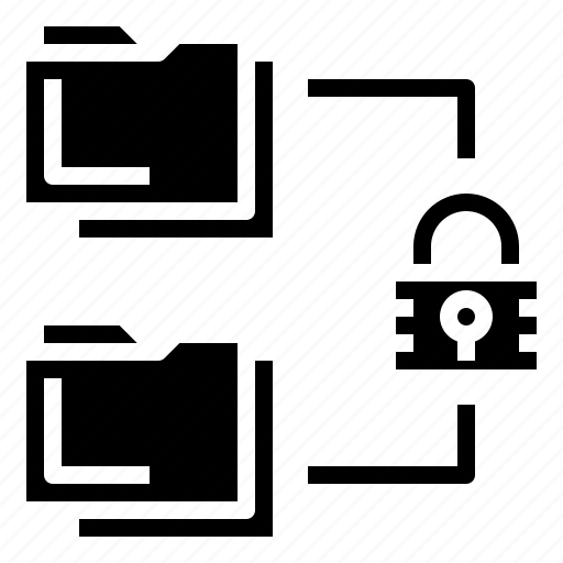 access, files, folder, folders, key, keyword, password icon