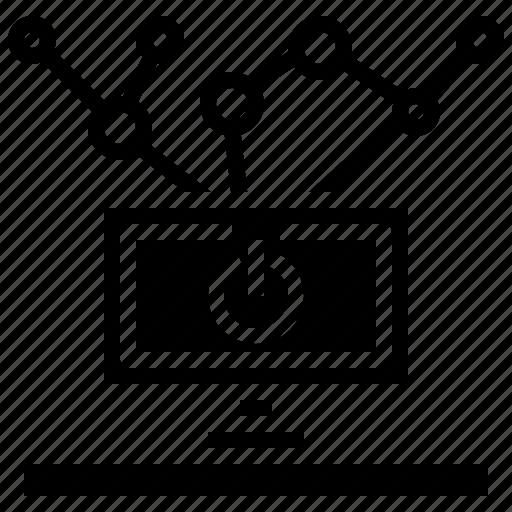 energy, multimedia, power, start, technology, ui icon