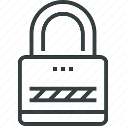 access, lock, locked, private, protection, secure, security icon