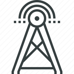 antenna, communication, internet, network, signal, wifi, wireless icon