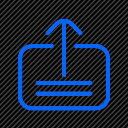 arrow, internet, up, upload, web, website icon