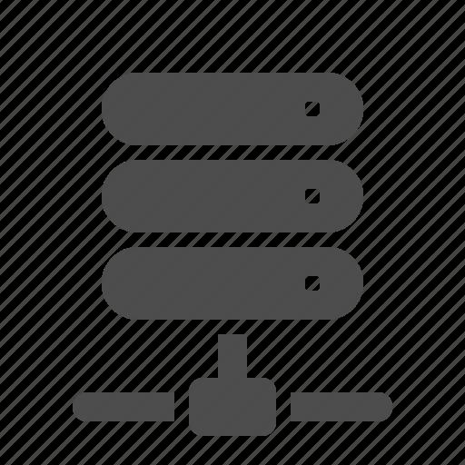 connection, data, database, network, node, server icon
