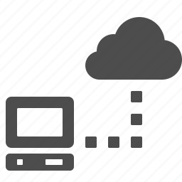 cloud, cloud computing, computer, connection, data, network, storage icon