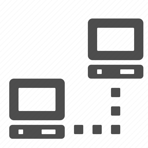 computer, connection, network, pc icon