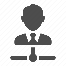 business, businessman, connection, data, network, node, user icon