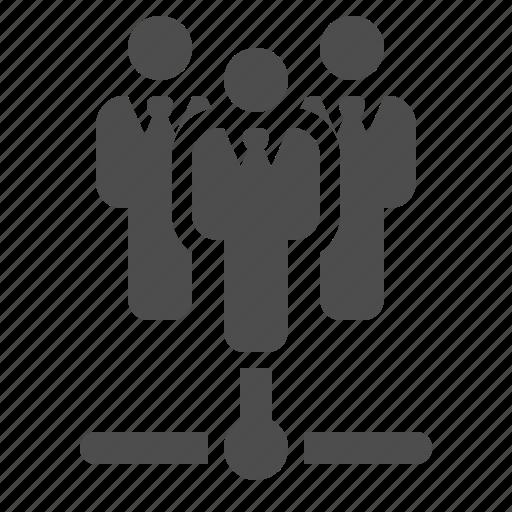 businessman, connection, data, man, network icon