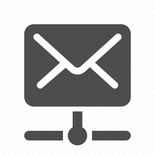 connection, data, e-mail, email, envelope, mail, network icon