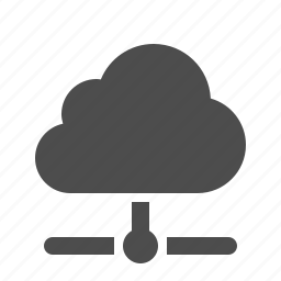 cloud, cloud computing, connection, data, network, node, storage icon