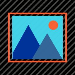 desktop, gallery, image, picture, wallpaper icon