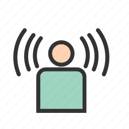 connection, line, sign, signal, user, wifi icon