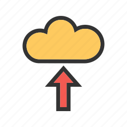 cloud, computing, data, internet, security, storage, technology icon