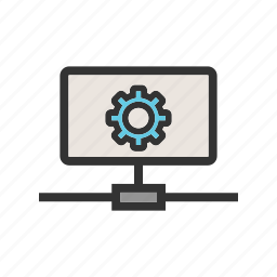 business, development, privacy, security, setting, technology, web icon