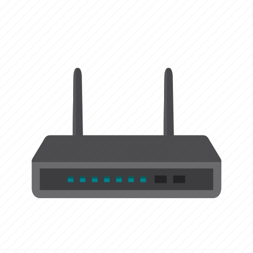 Internet, modem, router, signals, wi-fi, wifi, wireless icon - Download on Iconfinder