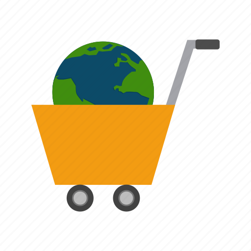 business, consumer, ecommerce, global, online, shopping icon