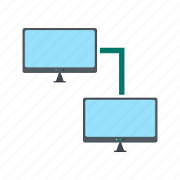 cloud, computer, computing, network, system, technology icon