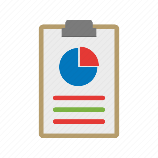 business, chart, graph, paper, report, reports icon