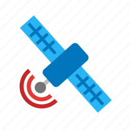 communication, earth, satellite, solar, space, technology, wireless icon
