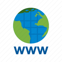 browser, domain, http, internet, web, website, www icon