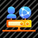 proxy, proxy server, web proxy, networking, internet, web icon