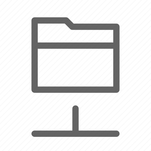 Folder, network, share icon - Download on Iconfinder