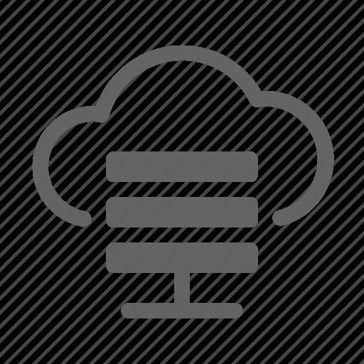 Cloud, hosting, server icon - Download on Iconfinder