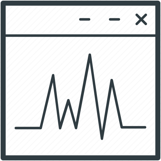 computer, heartbeat, lifeline, real estate, tab icon