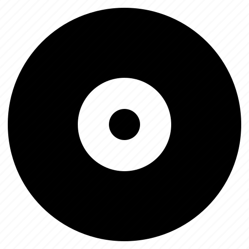 cd, disc, dvd, music, optical icon