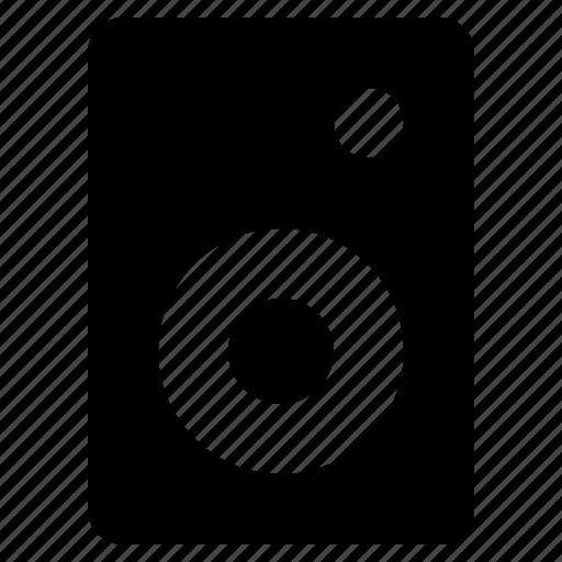 audio, music, sound, speaker, stereo icon
