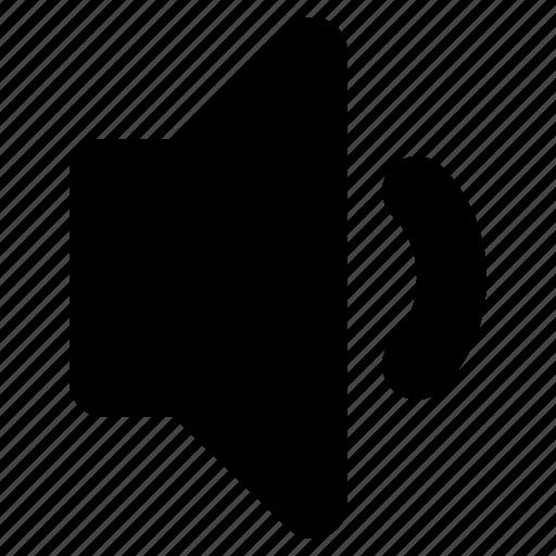 audio, down, low, sound, speaker, volume icon