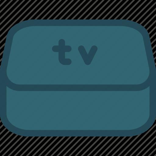 apple, itv, projector, smart tv, television, tv, tvos icon