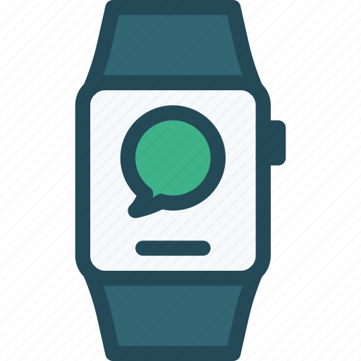 apple, iwatch, message, smartwatch, watch, wearable icon