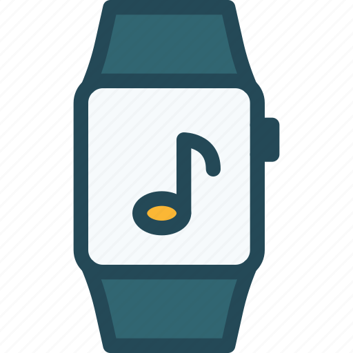 apple, device, iwatch, music, smartwatch, watch, wearable icon