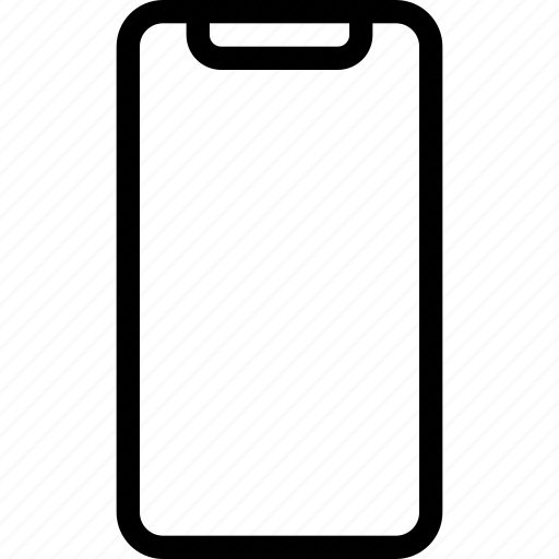 apple, front, iphone, iphone 10, iphone x, phone, smartphone icon