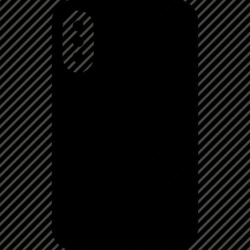 apple, back, iphone, iphone 10, iphone x, phone, smartphone icon