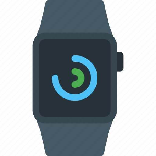 activity, apple, iwatch, notification, smartwatch, watch, wearable icon