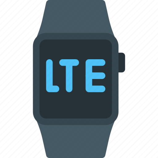 apple, iwatch, lte, signal, simcard, smartwatch, watch icon