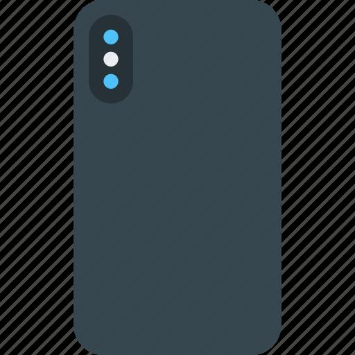Apple Back Iphone Iphone 10 Iphone X Phone Smartphone Icon