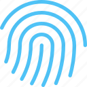 biometrics, fingerprint, id, identity, sensor, touch, touch id icon